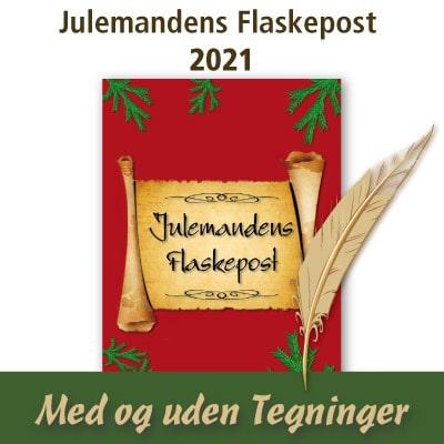 Julemandens Flaskepost 24 personlige nissebreve fra selveste julemanden