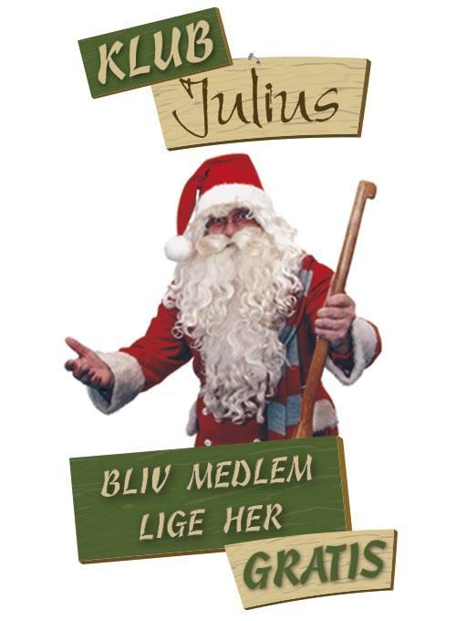 Klub Julius medlemsklub fra Julemandens Værksted