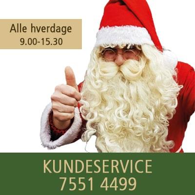 Julemandens Værksted kundeservice